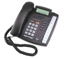 Single-line analog phone, Aastra 9116LP, is shown.