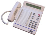 Digital multi-line phone, Aastra ITE30SD, is shown.