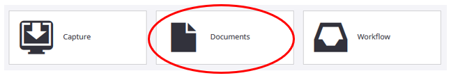 """perceptive experience """"documents"""" link circled"""