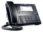 Voice over IP (VoIP) phone, Mitel 6869i, is shown.