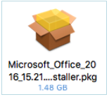 Example .pkg file for mac